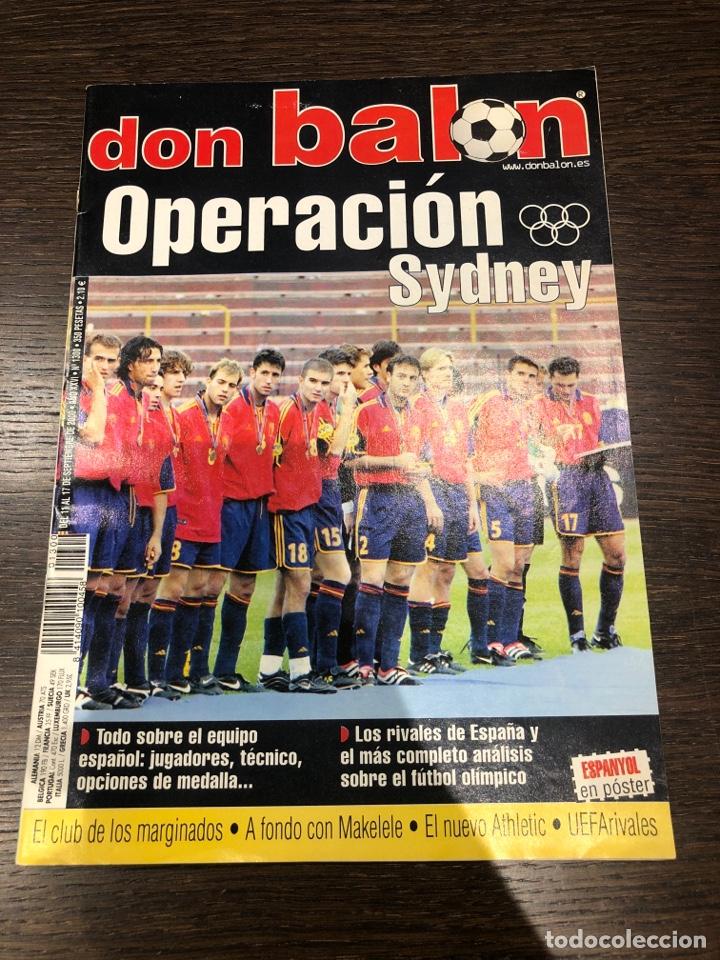 REVISTA DON BALÓN NÚM 1300 SEPT DEL 2000 POSTER RCDE (Coleccionismo Deportivo - Revistas y Periódicos - Don Balón)