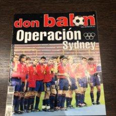 Coleccionismo deportivo: REVISTA DON BALÓN NÚM 1300 SEPT DEL 2000 POSTER RCDE. Lote 194143647