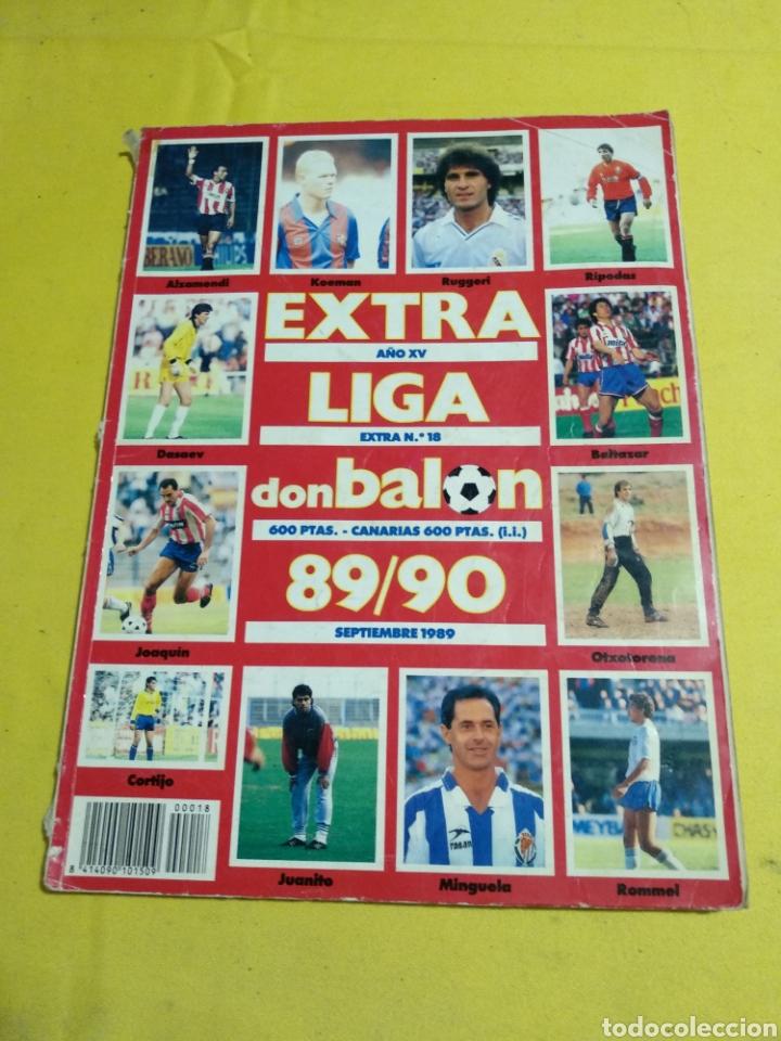 EXTRA LIGA DON BALON 89/90 (Coleccionismo Deportivo - Revistas y Periódicos - Don Balón)