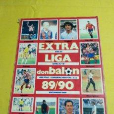 Coleccionismo deportivo: EXTRA LIGA DON BALON 89/90. Lote 194155237