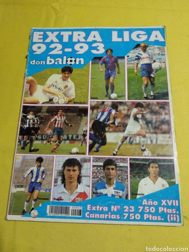 EXTRA LIGA DON BALON 92/93 (Coleccionismo Deportivo - Revistas y Periódicos - Don Balón)