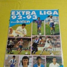 Coleccionismo deportivo: EXTRA LIGA DON BALON 92/93. Lote 194155312