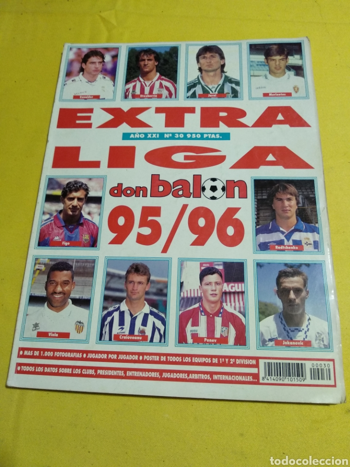 EXTRA LIGA DON BALON 95/96 (Coleccionismo Deportivo - Revistas y Periódicos - Don Balón)