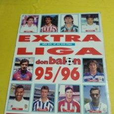 Coleccionismo deportivo: EXTRA LIGA DON BALON 95/96. Lote 194155371