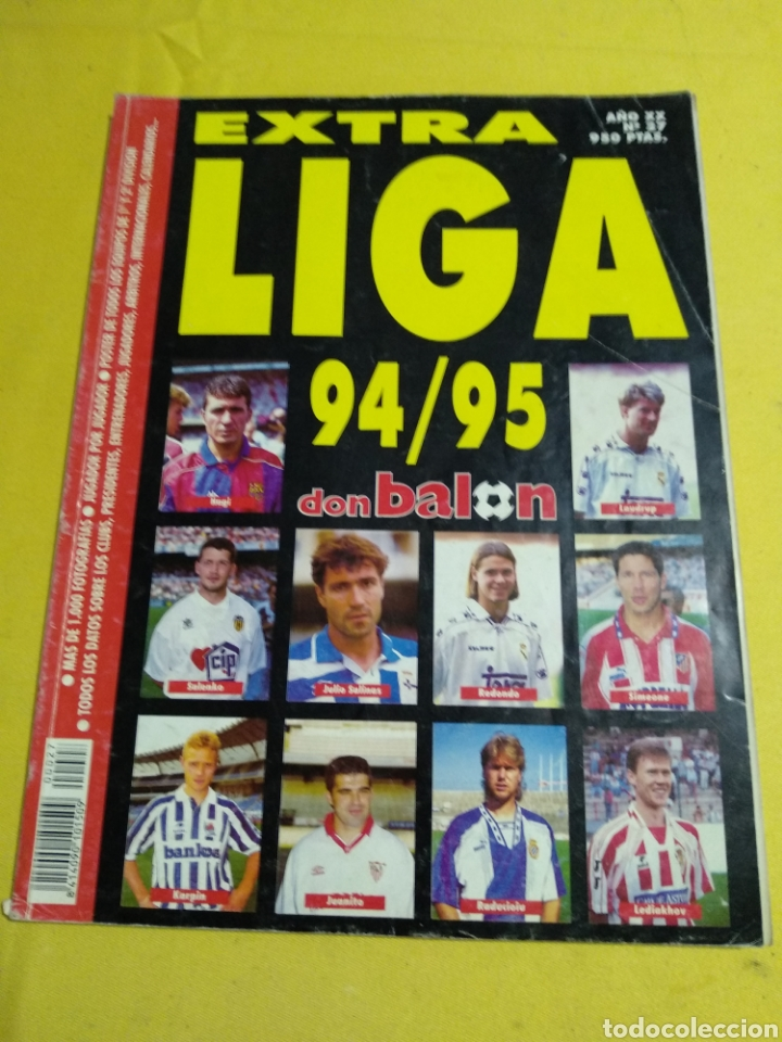 EXTRA LIGA DON BALON 94/95 (Coleccionismo Deportivo - Revistas y Periódicos - Don Balón)