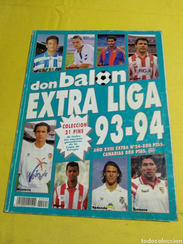EXTRA LIGA DON BALON 93/94 (Coleccionismo Deportivo - Revistas y Periódicos - Don Balón)