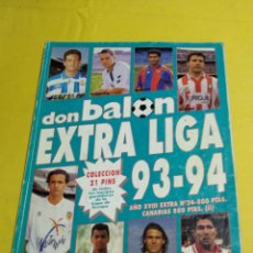 Coleccionismo deportivo: EXTRA LIGA DON BALON 93/94. Lote 194155560