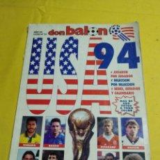Coleccionismo deportivo: DON BALÓN USA 94. Lote 194155931