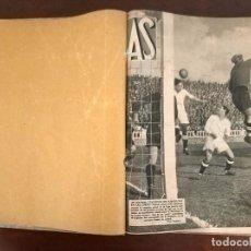 Coleccionismo deportivo: LOTE DE 23 REVISTAS PERIODICO DEPORTIVO AS AÑO 1933 Y 1934 DEL NUMERO 78 AL 100 AMBOS INCLUIDOS. Lote 194212208