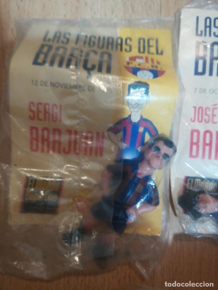 Coleccionismo deportivo: 7 figuras de futbolistas del Barca temporada 95/96 - Foto 2 - 194234476