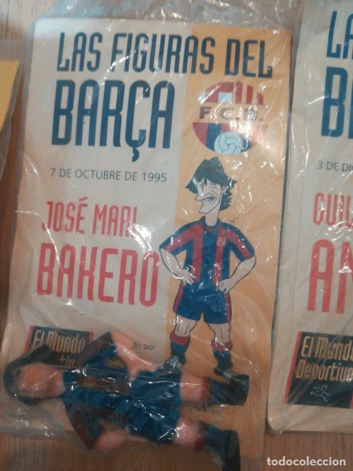 Coleccionismo deportivo: 7 figuras de futbolistas del Barca temporada 95/96 - Foto 3 - 194234476