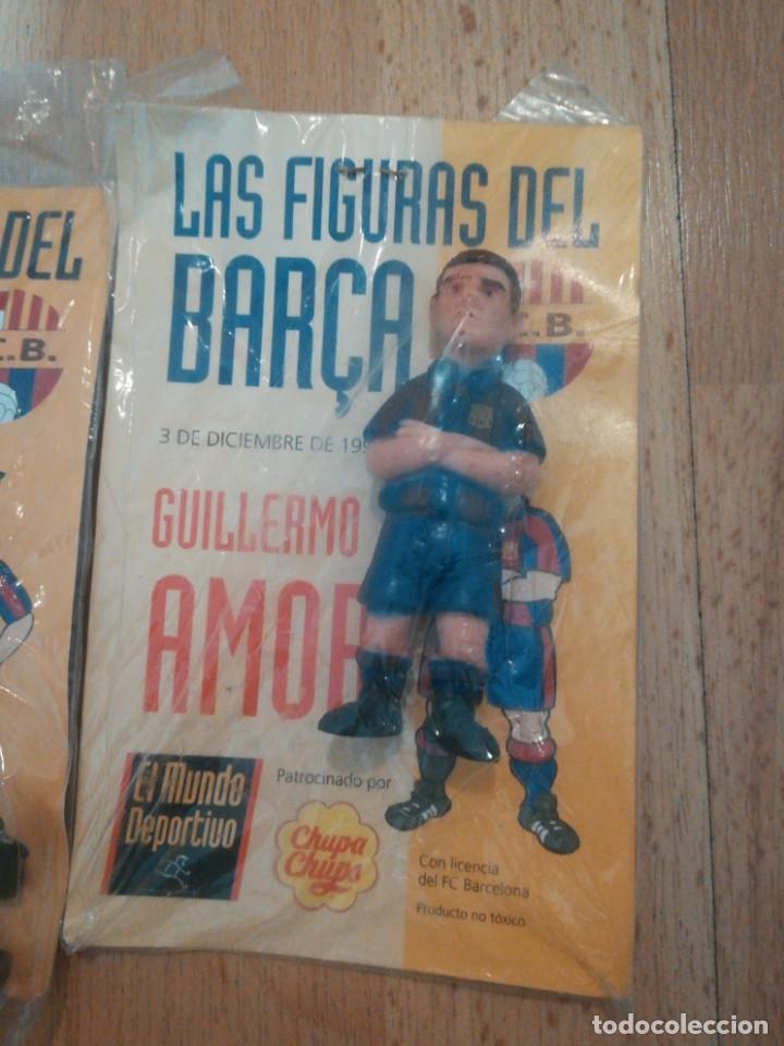 Coleccionismo deportivo: 7 figuras de futbolistas del Barca temporada 95/96 - Foto 4 - 194234476