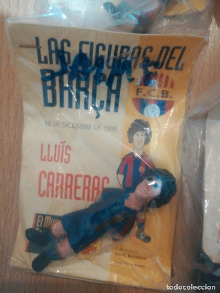 Coleccionismo deportivo: 7 figuras de futbolistas del Barca temporada 95/96 - Foto 5 - 194234476