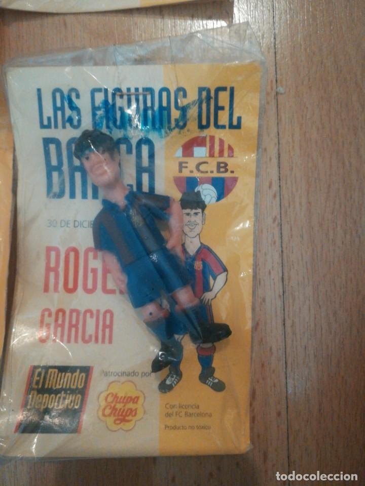 Coleccionismo deportivo: 7 figuras de futbolistas del Barca temporada 95/96 - Foto 7 - 194234476