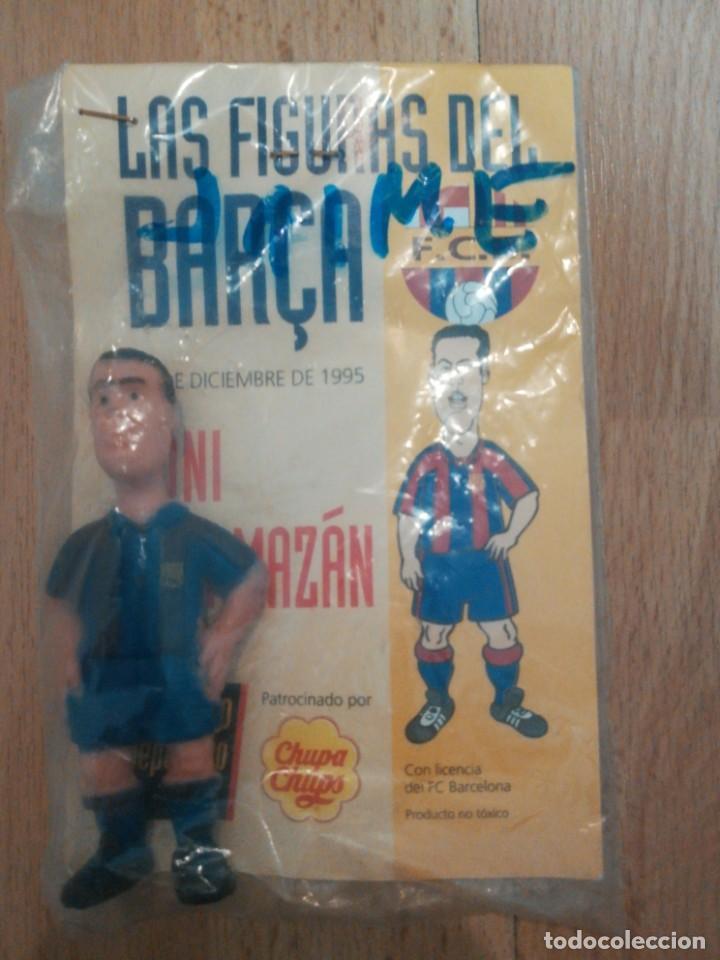 Coleccionismo deportivo: 7 figuras de futbolistas del Barca temporada 95/96 - Foto 8 - 194234476