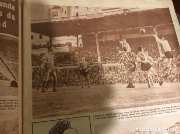Coleccionismo deportivo: Antiguo periódico marca Athletic club de Bilbao 1954 gran Premio motociclismo España - Foto 5 - 194239247
