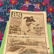 Coleccionismo deportivo: PERIÓDICO AS DEL DÍA QUE NACISTE 15/09/1968. Lote 194243871