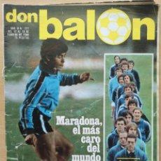 Coleccionismo deportivo: DON BALÓN 227 - MARADONA EL MAS CARO DEL MUNDO ESPECIAL REAL SOCIEDAD 14 PAGINAS. Lote 194293998