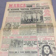 Coleccionismo deportivo: 5-4-1954 REAL MADRID CAMPEÓN LIGA. Lote 194359661