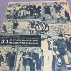 Coleccionismo deportivo: 13-6-1944 ATLÉTICO AVIACIÓN BILBAO SEMIFINAL COPA VALENCIA MURCIA. Lote 194361746