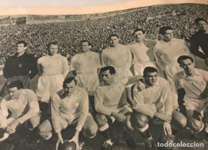 Coleccionismo deportivo: Bodas de oro del Real Madrid 1952 antigua revista marca fútbol - Foto 11 - 180993322