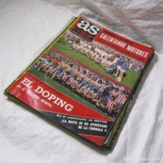 Coleccionismo deportivo: 10 REVISTAS AS COLOR AÑOS 70, TODAS CON POSTER. Lote 194518158