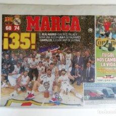 Coleccionismo deportivo: MARCA: REAL MADRID GANA LA LIGA DE BALONCESTO 2019. Lote 194653610