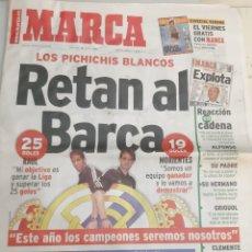 Coleccionismo deportivo: 1999 MARCA 28 JULIO PICHICHIS BLANCOS RETAN BARCA. Lote 194696555