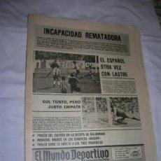 Coleccionismo deportivo: DIARIO MUNDO DEPORTIVO N, 17.544 DE MARZO DE 1980 EDICION TARDE. Lote 194711917