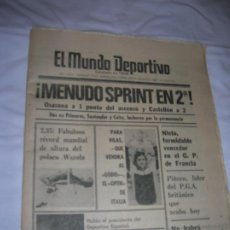 Coleccionismo deportivo: DIARIO MUNDO DEPORTIVO N, 17615 DE MAYO DE 1980. Lote 194712468