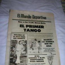 Coleccionismo deportivo: DIARIO MUNDO DEPORTIVO N, 18549 DE 1983. Lote 194712662