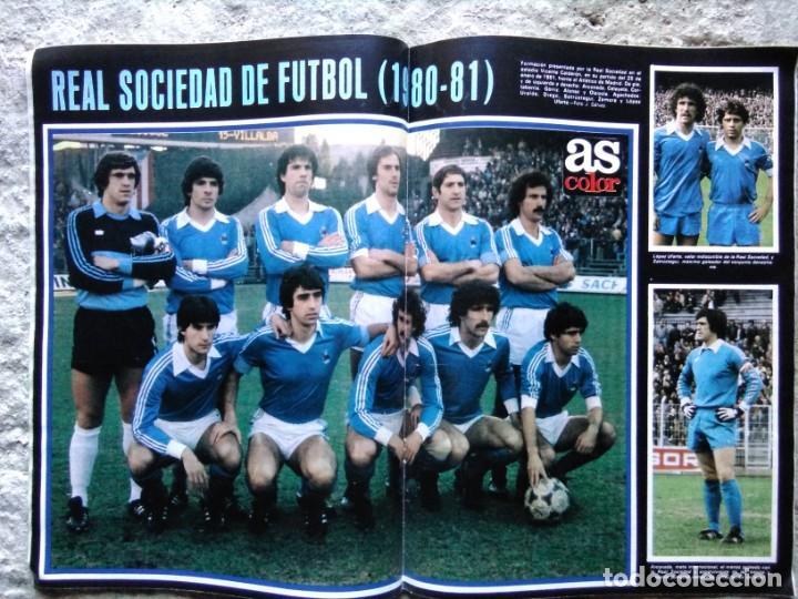 AS COLOR 520 POSTER REAL SOCIEDAD 80-81 (Coleccionismo Deportivo - Revistas y Periódicos - As)