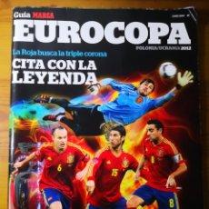 Coleccionismo deportivo: GUÍA MARCA EUROCOPA 2012 POLONIA-UCRANIA. Lote 194732176