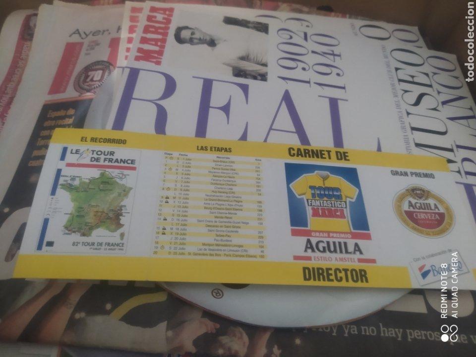 CARTILLA JUEGO CICLISMO TOUR DE FRANCIA 1995 TOUR FANTÁSTICO MARCA DIARIO MARCA VER FOTOS CAJA 19 (Coleccionismo Deportivo - Revistas y Periódicos - Marca)