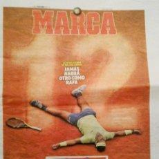 Coleccionismo deportivo: PERIODICO MARCA NADAL CAMPEON ROLAND GARROS 2019. Lote 194889976