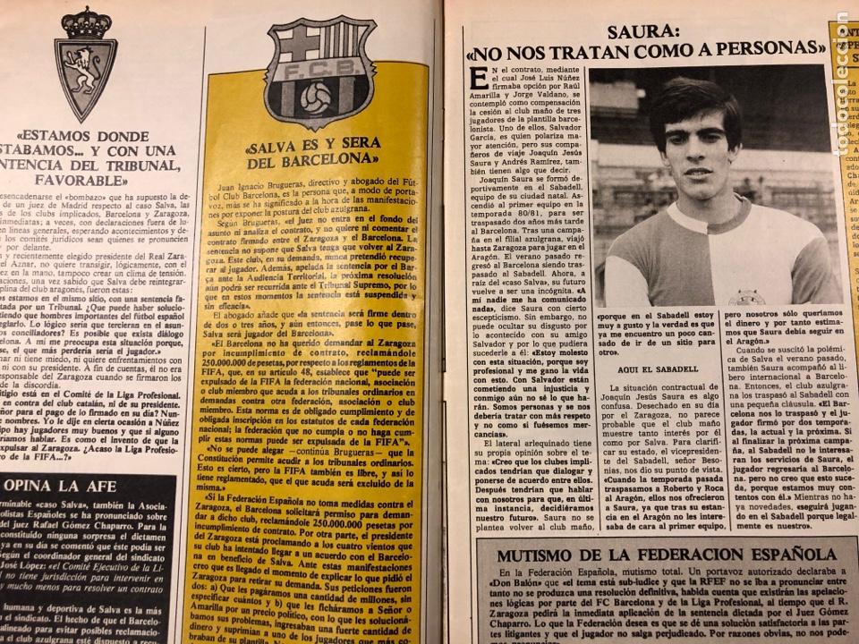 Coleccionismo deportivo: DON BALÓN N° 462 (1985). POSTER ARCHIBALD, ATHLETIC CLUB, N'KONO, SONGO'O, HELENIO HERRERA,.. - Foto 2 - 194926488
