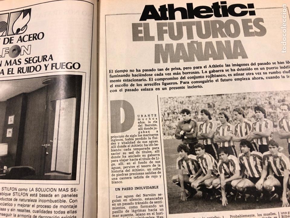 Coleccionismo deportivo: DON BALÓN N° 462 (1985). POSTER ARCHIBALD, ATHLETIC CLUB, N'KONO, SONGO'O, HELENIO HERRERA,.. - Foto 3 - 194926488