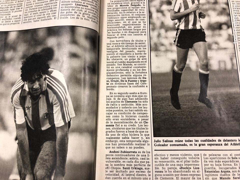 Coleccionismo deportivo: DON BALÓN N° 462 (1985). POSTER ARCHIBALD, ATHLETIC CLUB, N'KONO, SONGO'O, HELENIO HERRERA,.. - Foto 4 - 194926488