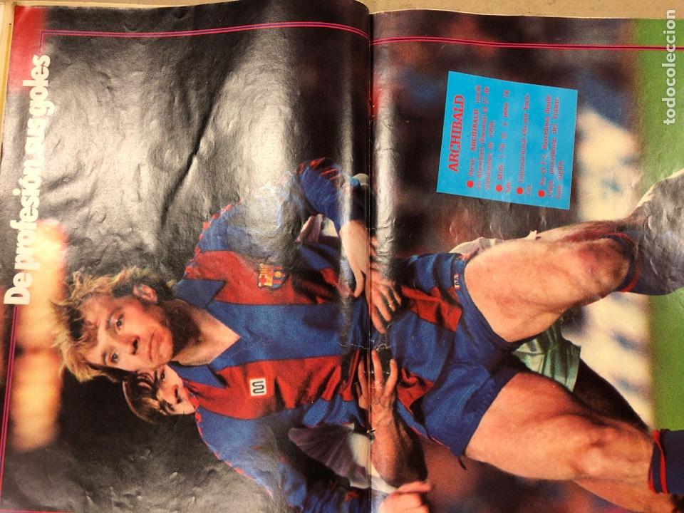 Coleccionismo deportivo: DON BALÓN N° 462 (1985). POSTER ARCHIBALD, ATHLETIC CLUB, N'KONO, SONGO'O, HELENIO HERRERA,.. - Foto 5 - 194926488