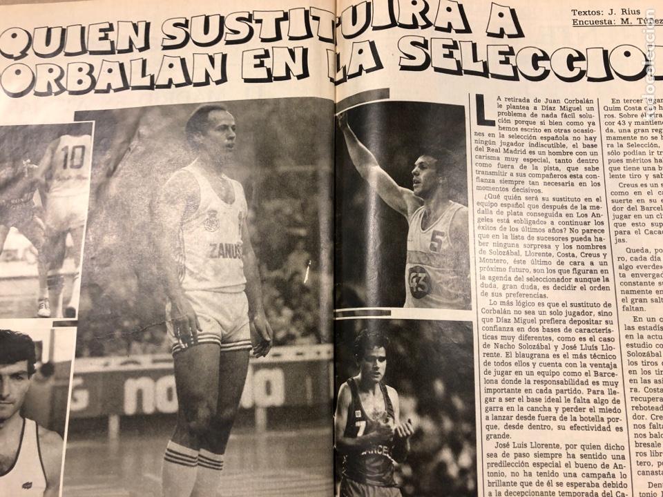 Coleccionismo deportivo: DON BALÓN N° 462 (1985). POSTER ARCHIBALD, ATHLETIC CLUB, N'KONO, SONGO'O, HELENIO HERRERA,.. - Foto 6 - 194926488