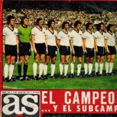 Coleccionismo deportivo: EL CAMPEÓN Y EL SUBCAMPEÓN. Lote 194928650