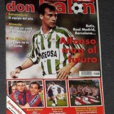 Coleccionismo deportivo: REVISTA DON BALÓN Nº 1118 MARZO 1997 POSTER COMPOSTELA 96-97. Lote 194967172