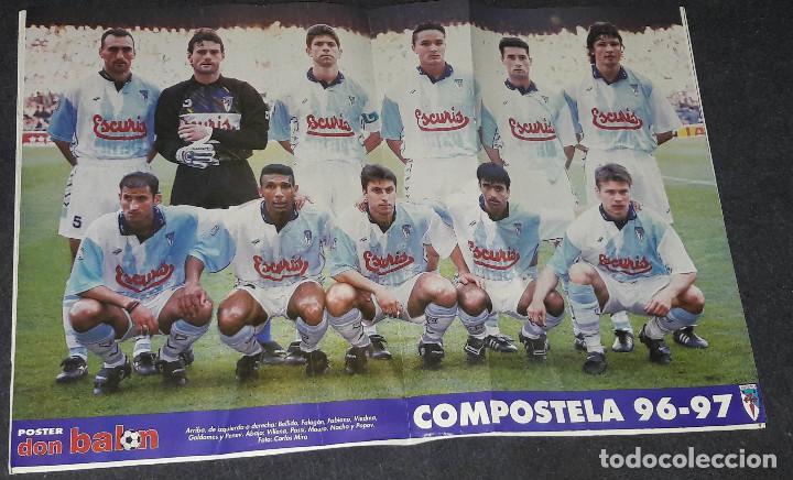 Coleccionismo deportivo: REVISTA DON BALÓN Nº 1118 MARZO 1997 POSTER COMPOSTELA 96-97 - Foto 2 - 194967172