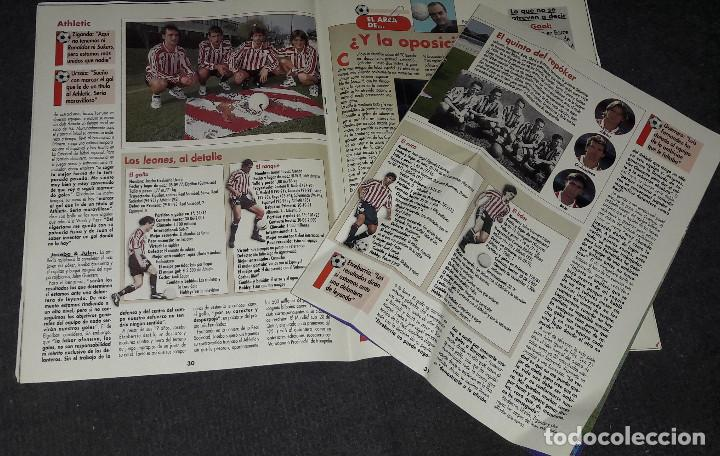 Coleccionismo deportivo: REVISTA DON BALÓN Nº 1118 MARZO 1997 POSTER COMPOSTELA 96-97 - Foto 3 - 194967172