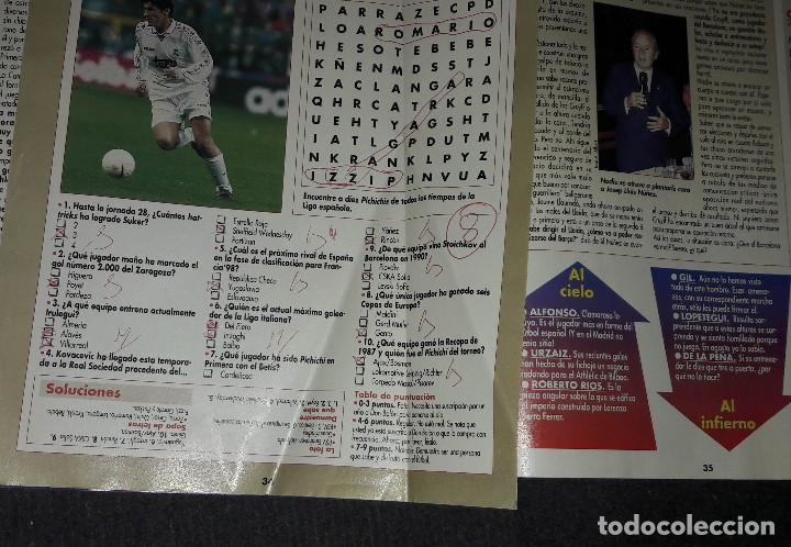 Coleccionismo deportivo: REVISTA DON BALÓN Nº 1118 MARZO 1997 POSTER COMPOSTELA 96-97 - Foto 4 - 194967172