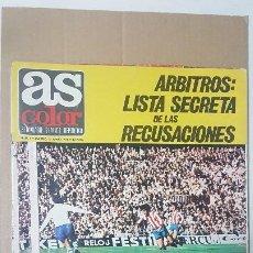 Coleccionismo deportivo: AS COLOR Nº 4 - 15-06-1971 / POSTER CENTRAL VALENCIA C.F. Lote 194972726