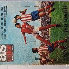 Coleccionismo deportivo: AS COLOR Nº 15 - (31 / 08 / 1971 )- POSTER GRANADA CLUB DE FUTBOL (71/72). Lote 194991731