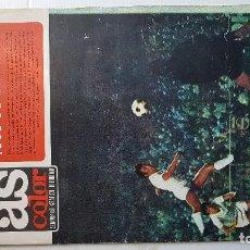Coleccionismo deportivo: AS COLOR Nº 16 - (07 / 09 / 1971 )- POSTER REAL CLUB CELTA DE VIGO (71/72). Lote 194992190