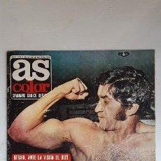 Colecionismo desportivo: AS COLOR Nº 54 - (30 / 05 / 1972 ) POSTER SELECCION ESPAÑOLA (71/72) . Lote 195035125