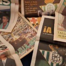 Coleccionismo deportivo: INCREÍBLE LOTE PERIÓDICO (RECORTES) Y SUPLEMENTOS FINAL COPA REY BARCELONA BETIS 28 JUNIO 1997. LEER. Lote 195055113